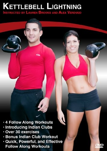 Kettlebell Lightning DVD Instructed by Lauren Brooks and Alex Verdugo