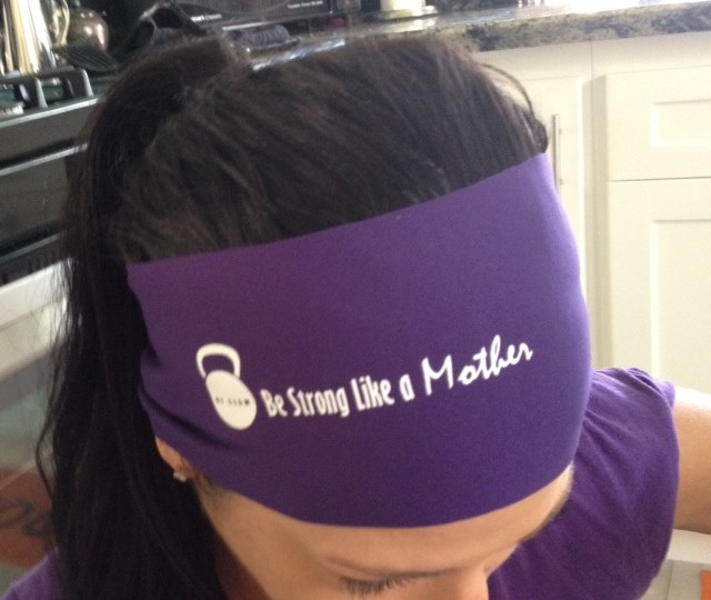 Be Slam Bondi Headband in Purple