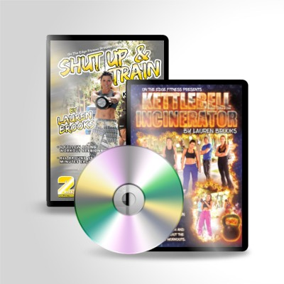 Shut Up and Train and Kettlebell Incinerator DVD Package