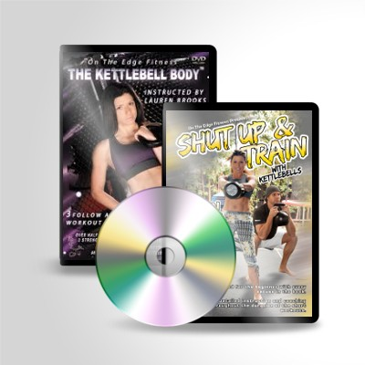 The Kettlebell Body™ and Shut Up and Train DVD Package