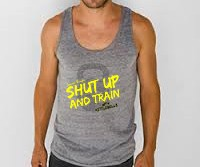 Unisex Shut Up and Train Fitness Tank Top