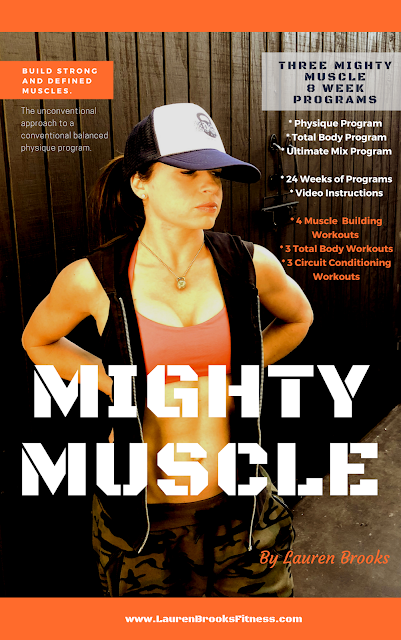 Lauren Brooks' Download and Streaming Kettlebell Fitness Program Mighty Muscle